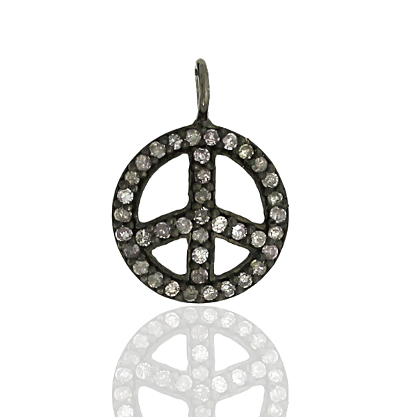 Halloween-Sale-Charm-Finding-Diamond-Sterling-Silver-Jewelry-FDS-7537