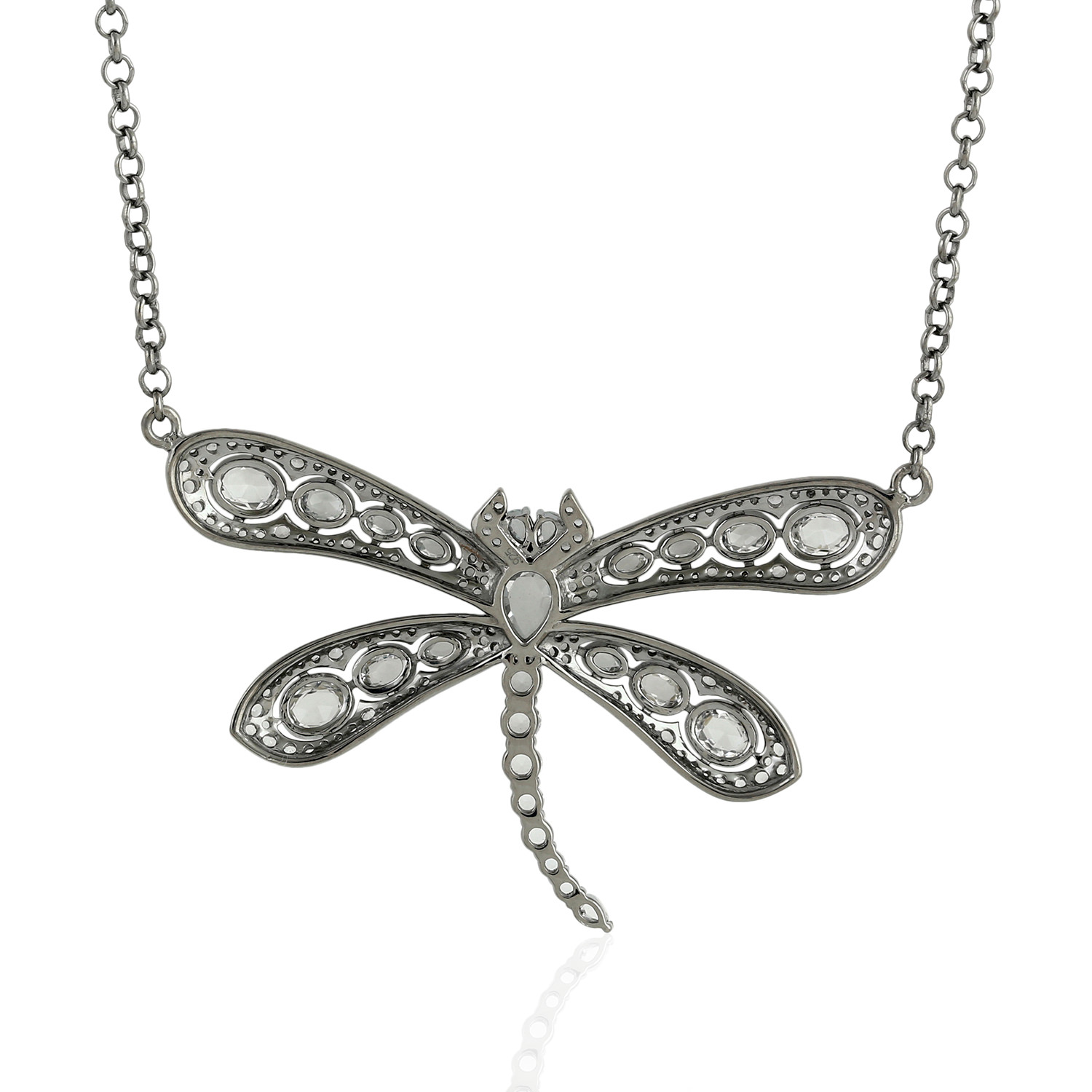 Natural Topaz Butterfly Pendant 925 Sterling Silver ...