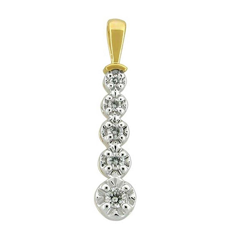 Latest Fashion    10k Solid White gold Diamond Designer Pendant Fashion Jewelry